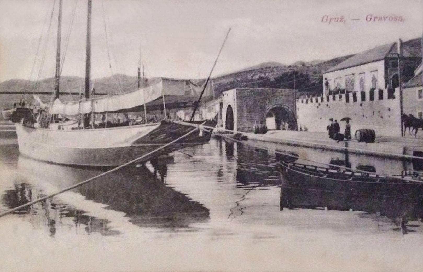 gruz gravosa 1910