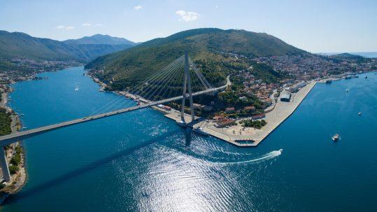 luka dubrovnik most franja tudmana