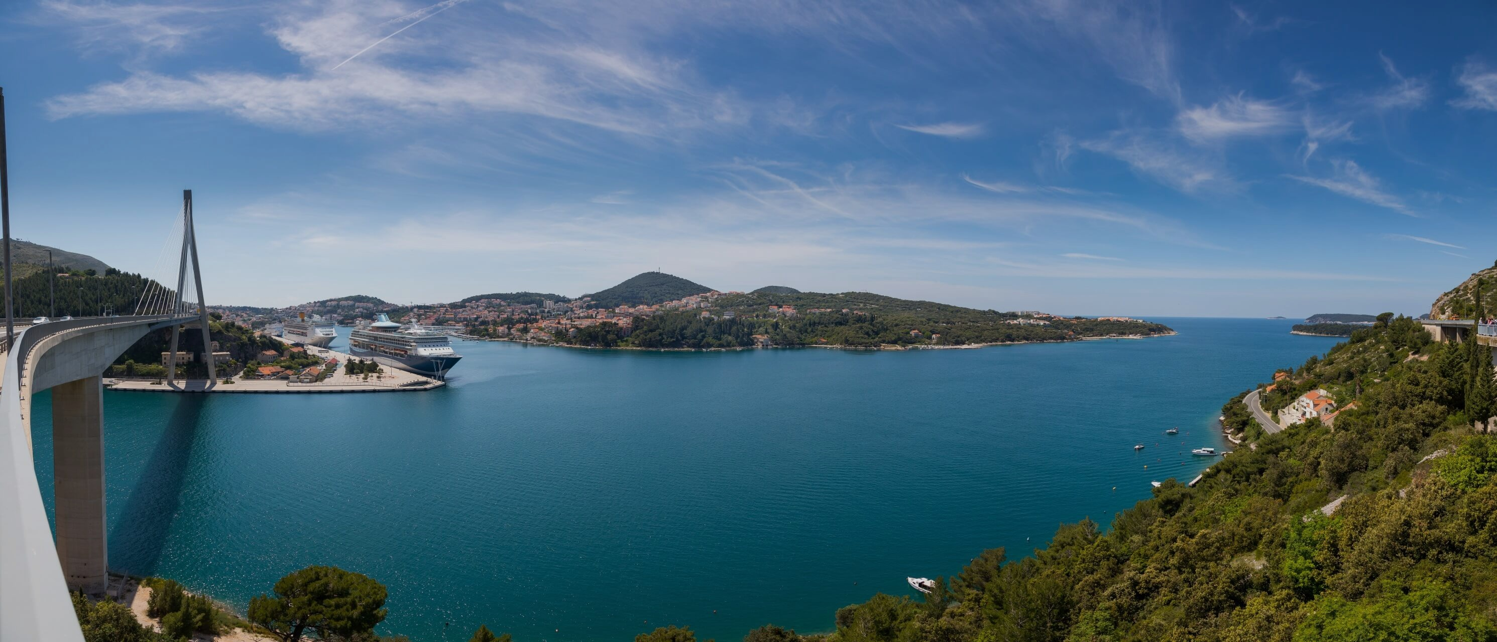 panorama port gruz